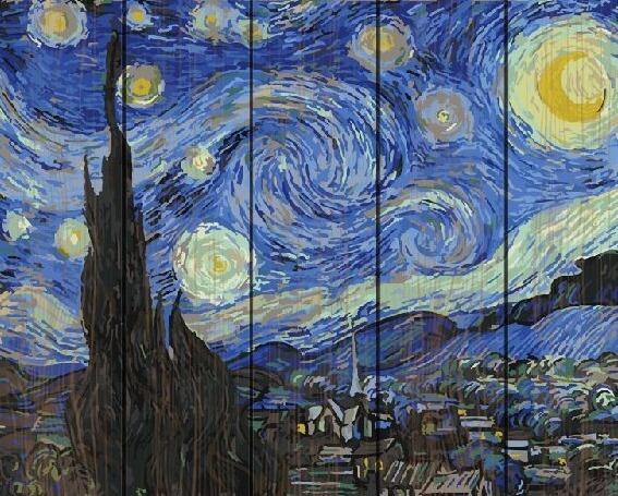 Картина по номерам GXT 4756 Звездная ночь (Ван Гог) 40x50 ...
